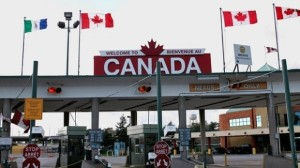 Canada Border Outside