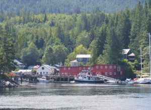 Telegraph COVE village au Canada